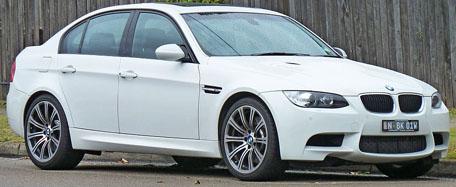 Polovni automobil BMW M3 u Nemačkoj